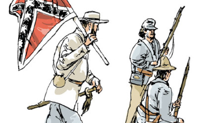 Confederates on the Battlefield