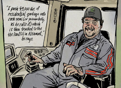 Raul Zamora, Dozer Operator