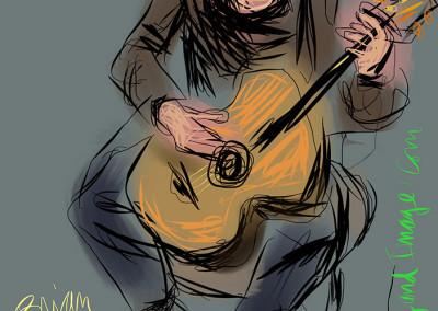 Brian Gore on Guitar